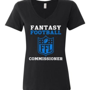 Ladies Fantasy Football Commissioner Tee